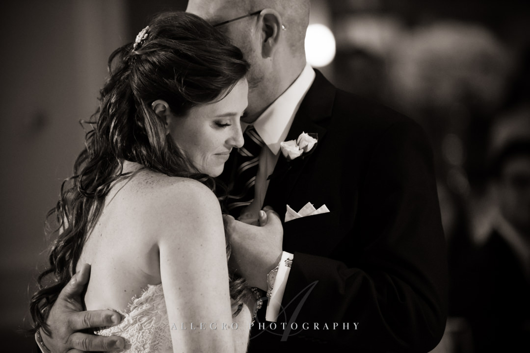 father daughter dance at boston harbor hotel wedding - photo by allegro photography