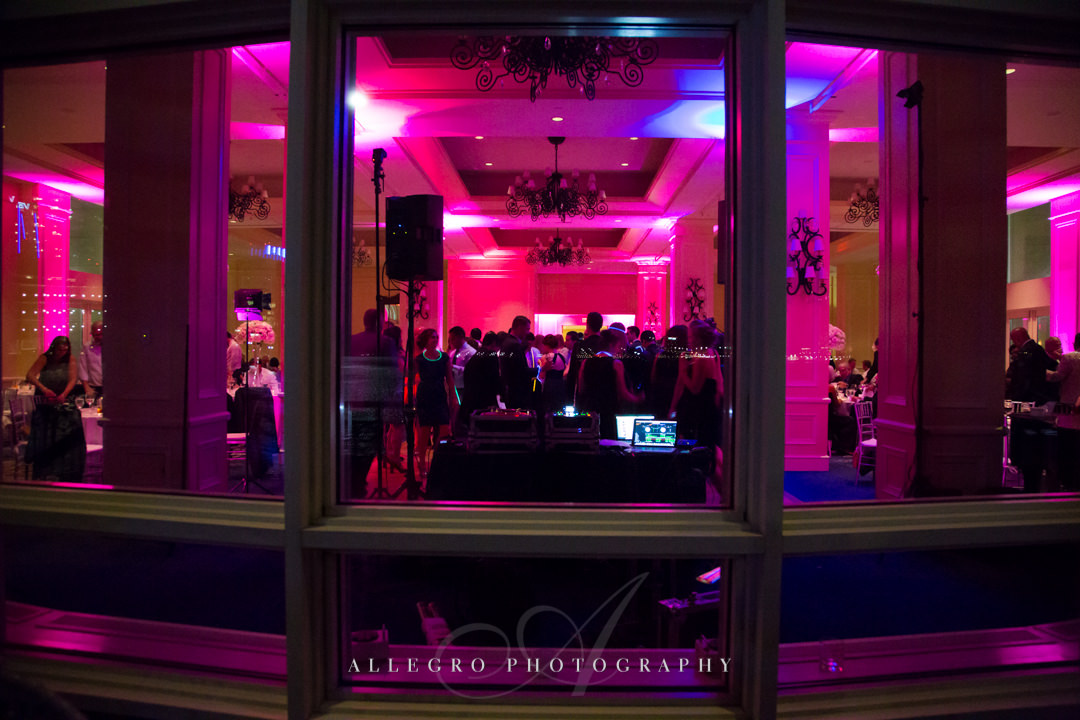wedding views at the boston harbor hotel - photo by allegro photography