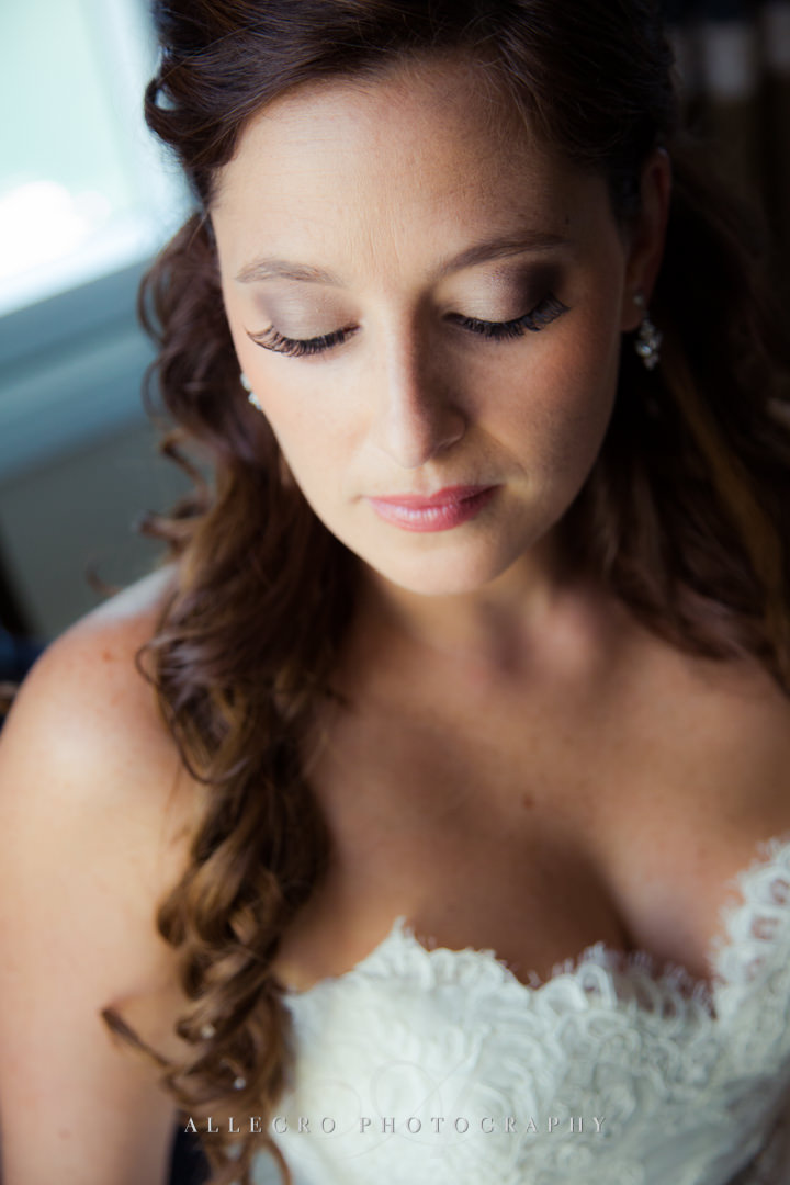 bridal makeup at the boston harbor hotel - photo by allegro photography