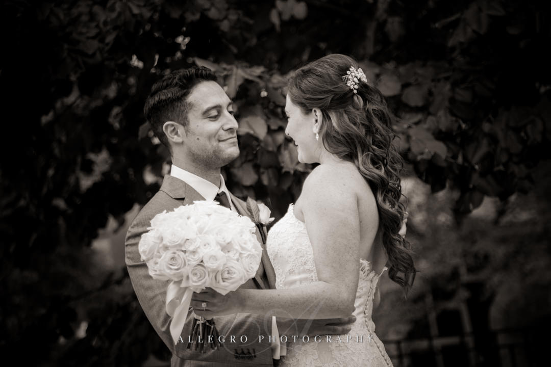 boston wedding portrait - photo by allegro photography