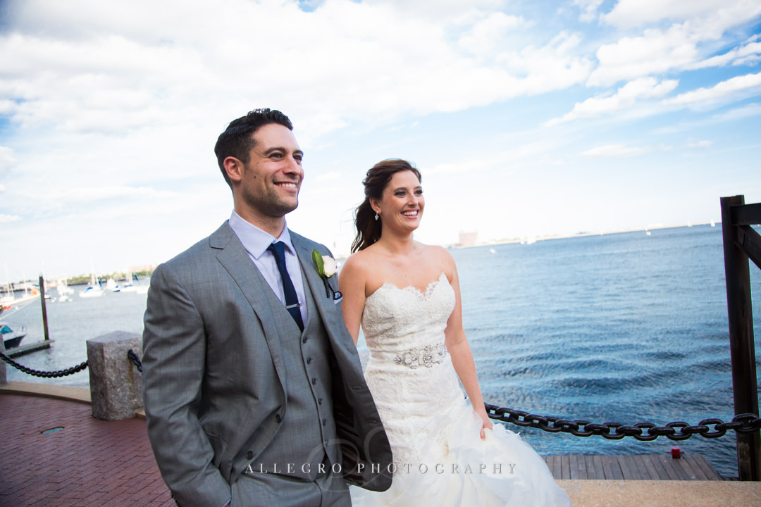 harbor wedding photo - photo by allegro photography