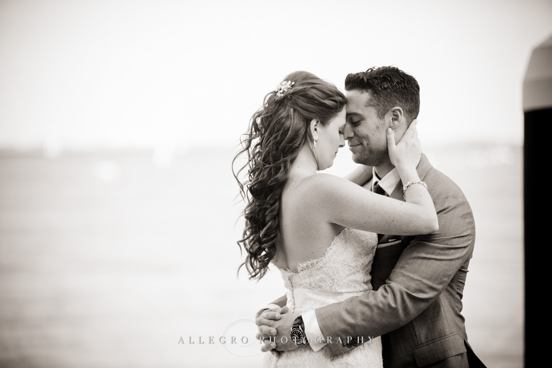 stunning boston harbor wedding photo - photo by allegro photography
