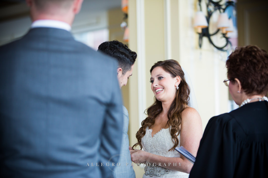 saying I do at the boston harbor hotel - photo by allegro photography