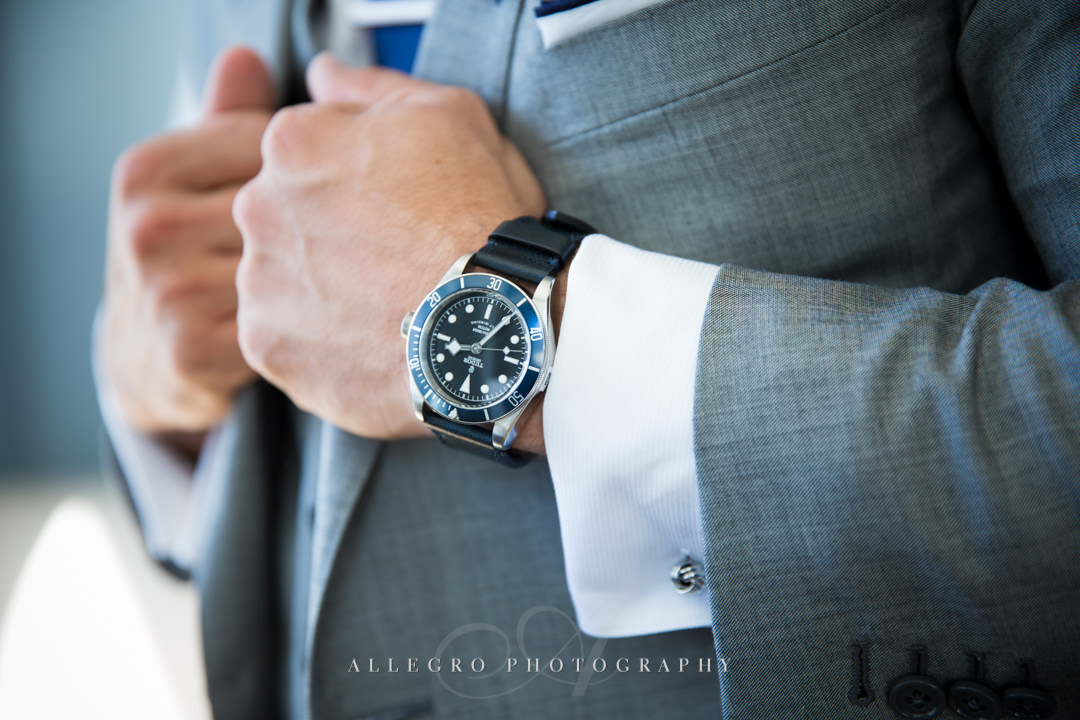 dashing groom's accessories at the boston harbor hotel - photo by allegro photography