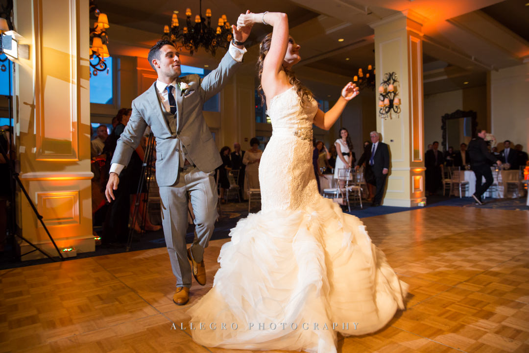 elegant boson wedding - photo by allegro photography