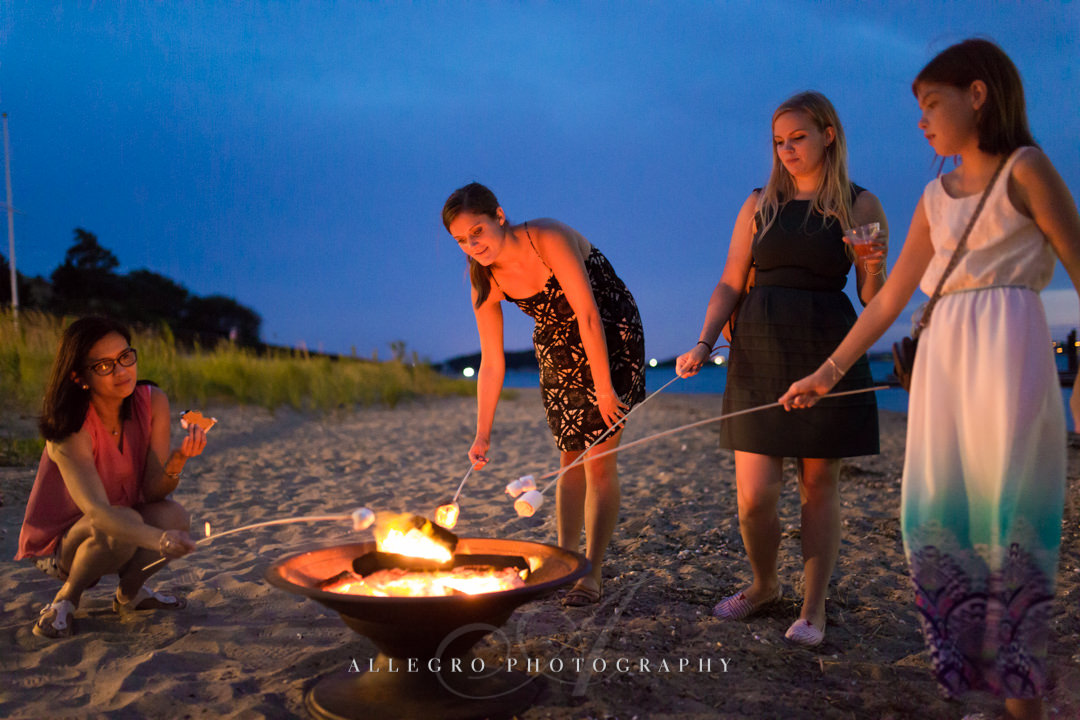 boston harbor island s'mores - photo by allegro photography
