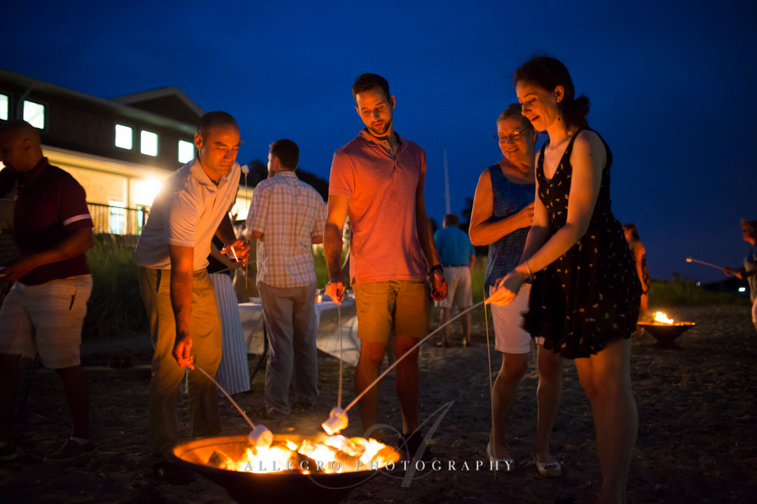 rehearsal dinner s'mores - photo by allegro photography