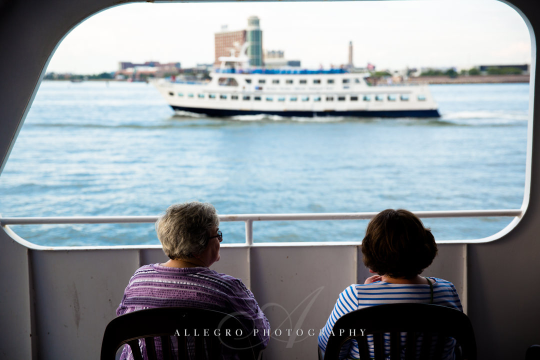 boston harbor cruise - photo by allegro photography