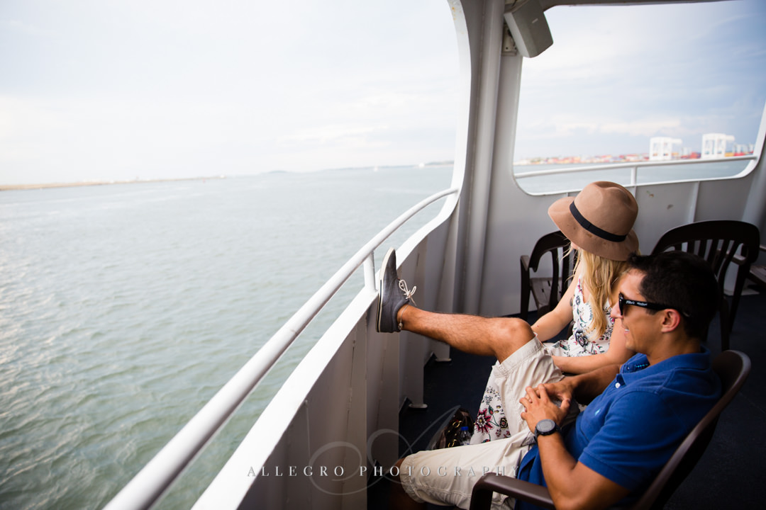 boston harbor cruise views - photo by allegro photography