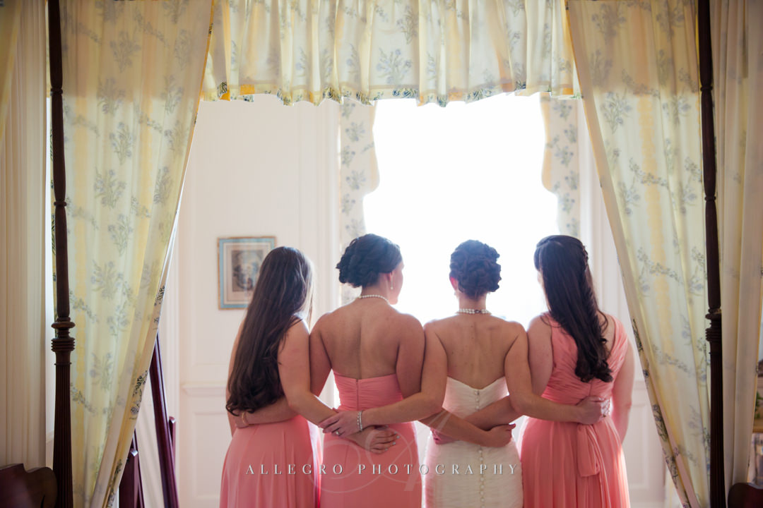 boston bridal party - photo by allegro photography