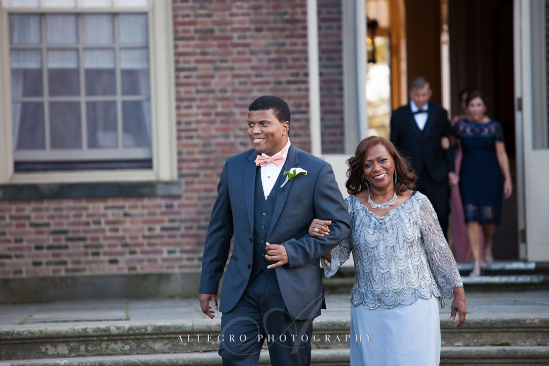 crane estate wedding - photo by allegro photography