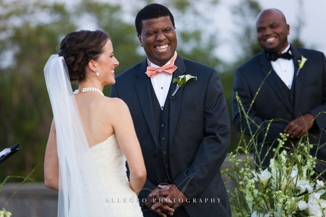 multiracial couple wedding boston - photo by allegro photography