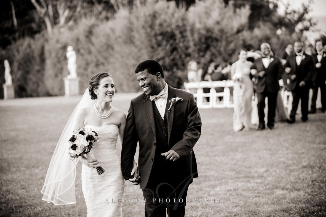 multiracial couple wedding celebration - photo by allegro photography
