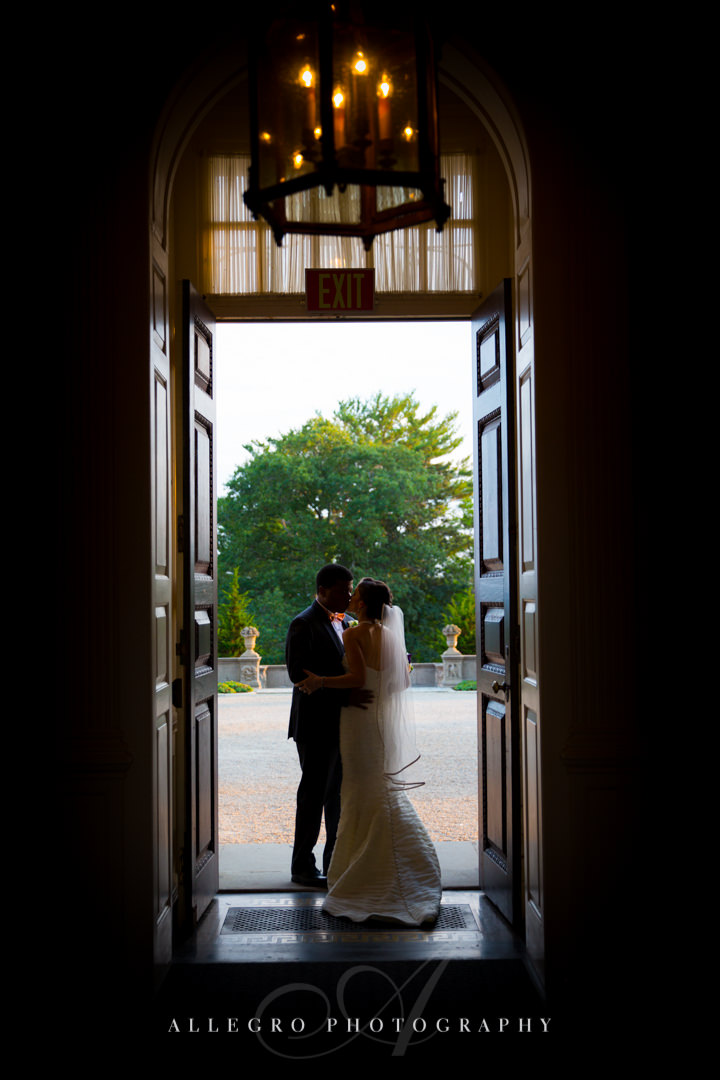 wedding couple portrait boston  - photo by allegro photography