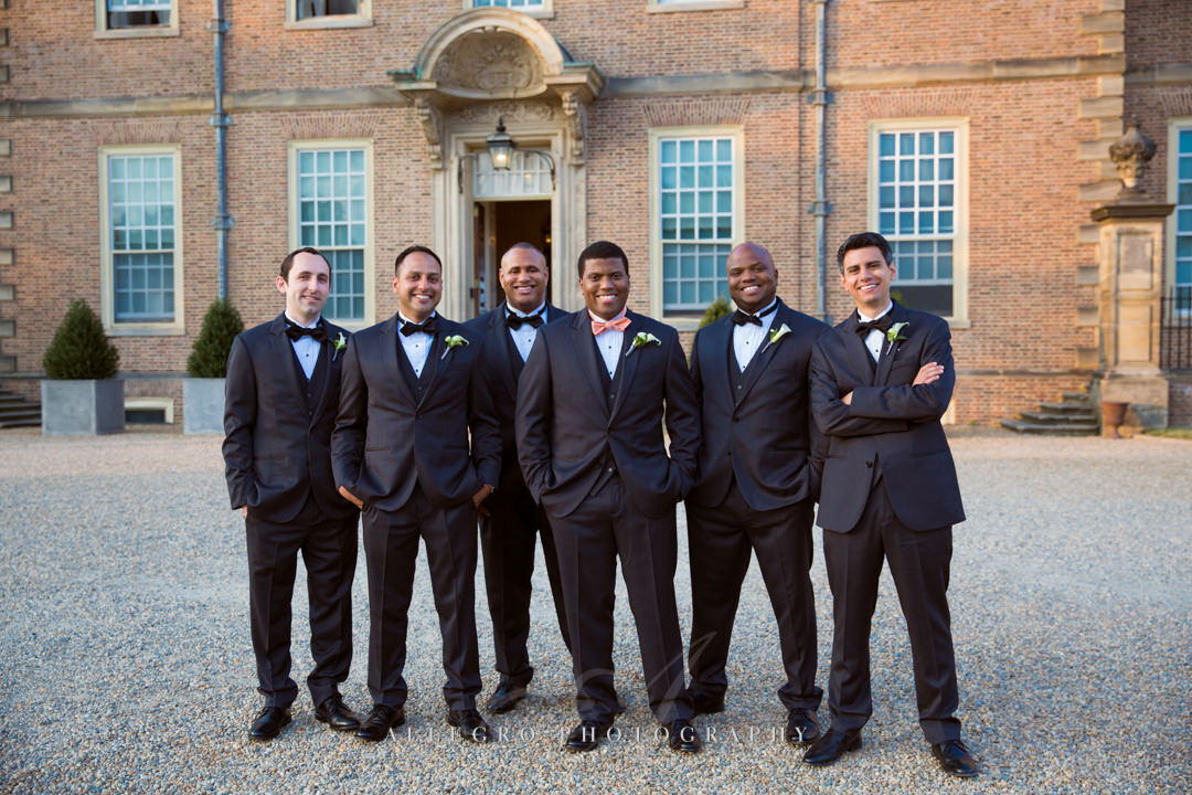 stately groomsmen boston - photo by allegro photography
