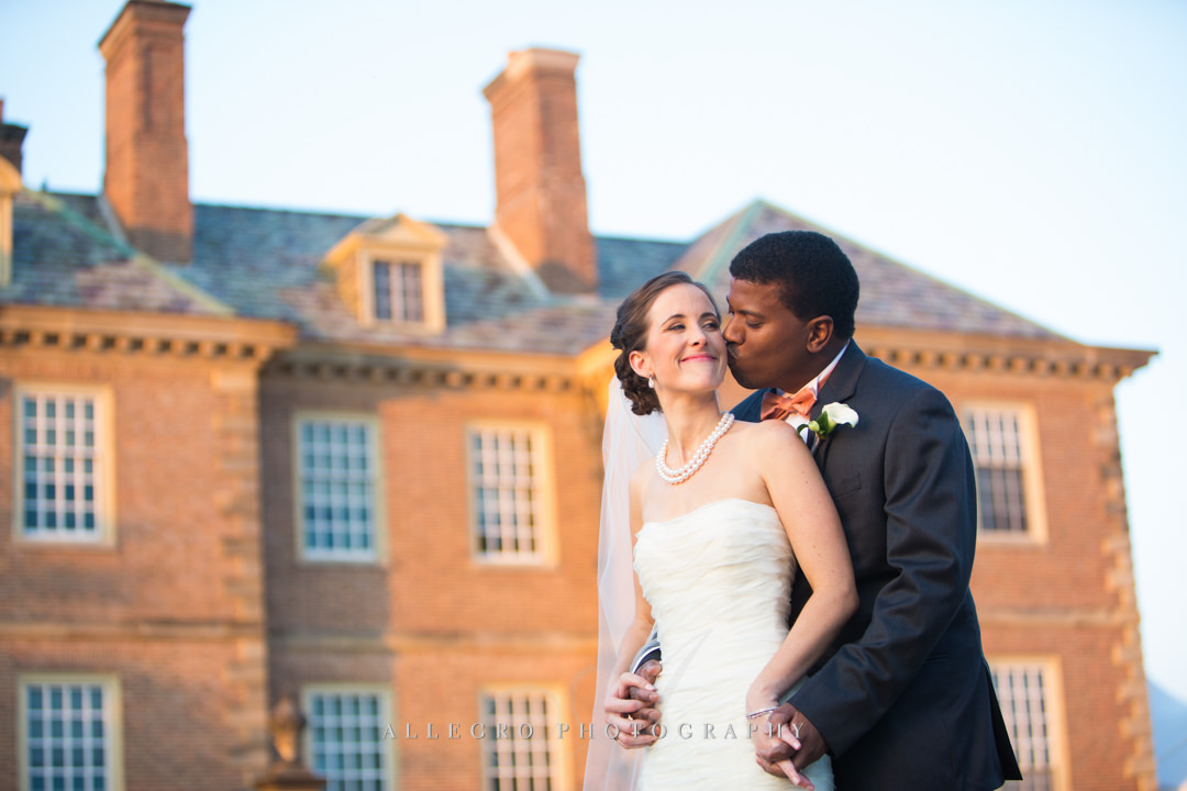 estate wedding boston - photo by allegro photography
