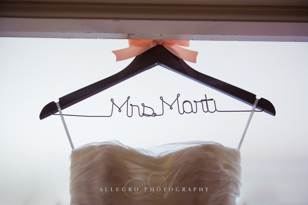 wedding dress details crane estate - photo by allegro photography