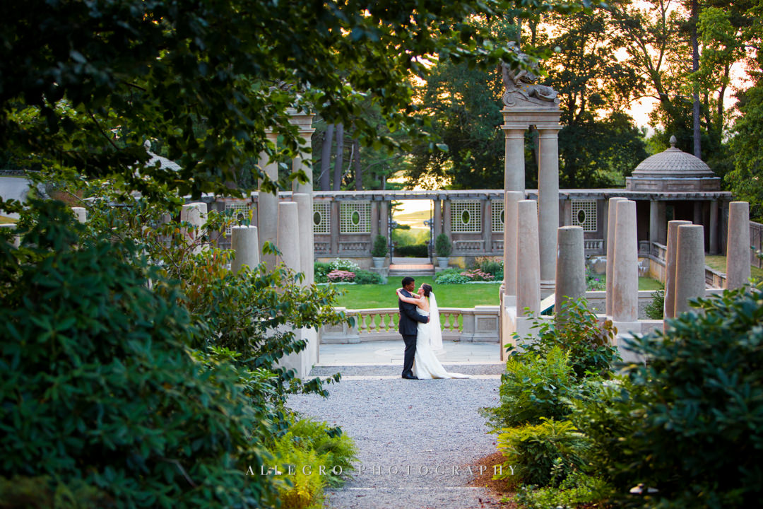 crane estate wedding photos - photo by allegro photography