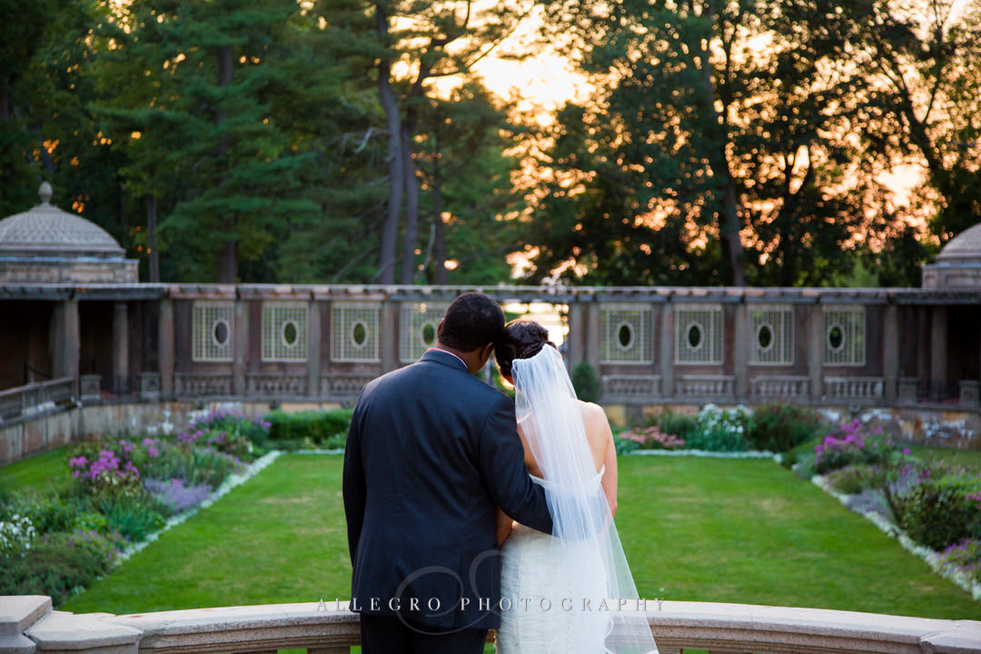 gorgeous garden wedding boston - photo by allegro photography