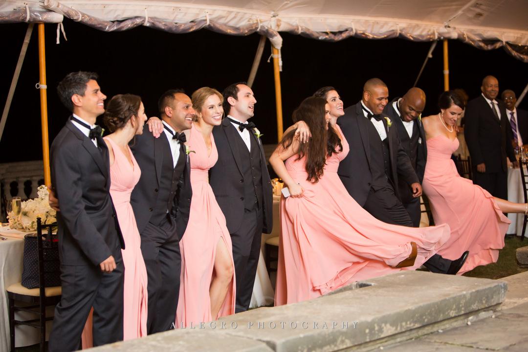 wedding part at crane estate - photo by allegro photography