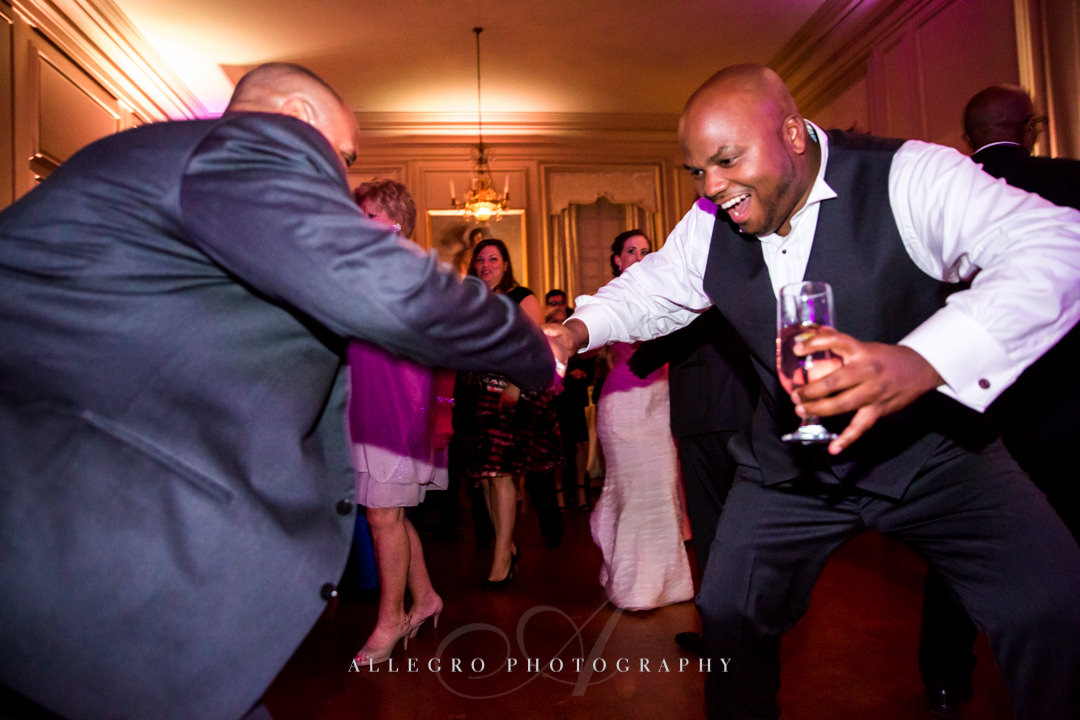 wedding reception dancing - photo by allegro photography