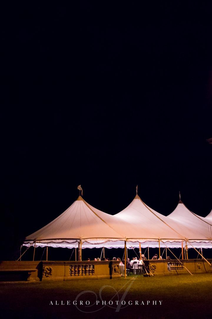 tent wedding crane estate photo by allegro photography