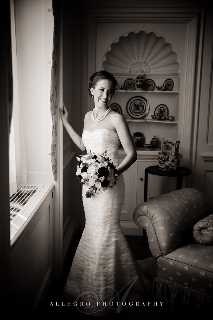 bridal portrait crane estate - photo by allegro photography
