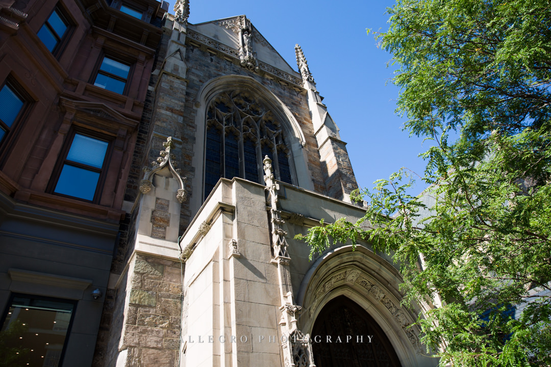 boston wedding immanuel church - photo by allegro photography