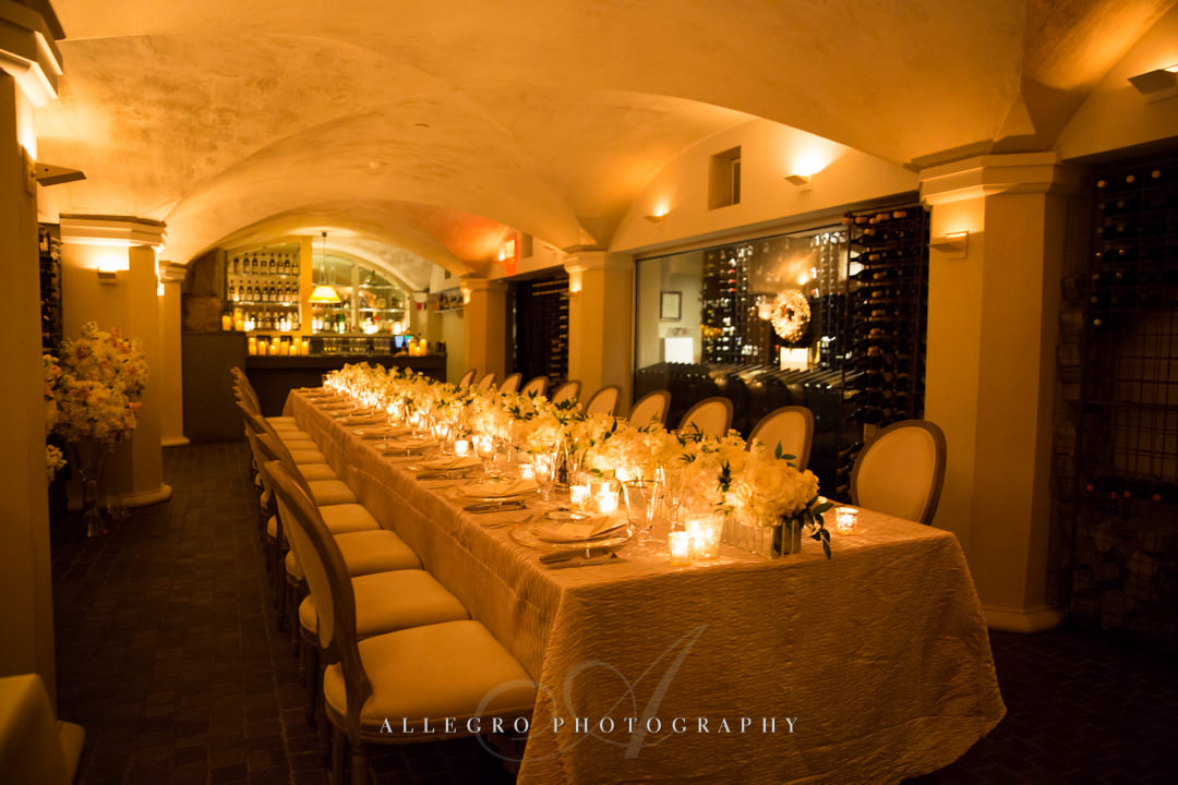 moo restaurant wedding decor - photo by allegro photography