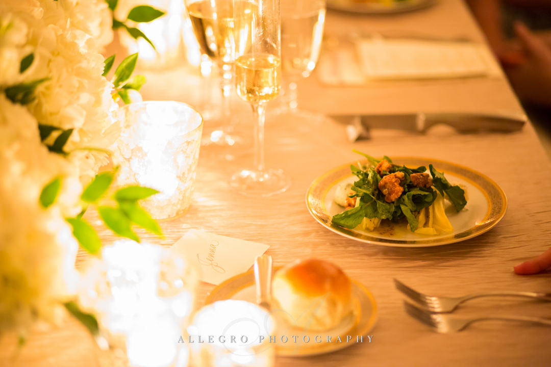 moo restaurant wedding table decor - photo by allegro photography