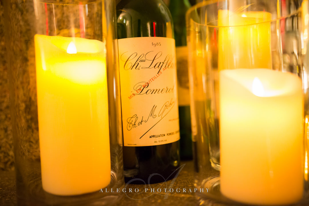 moo restaurant wedding wine - photo by allegro photography