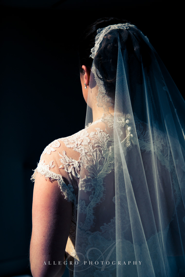 elegant bridal portrait boston - photo by allegro photography