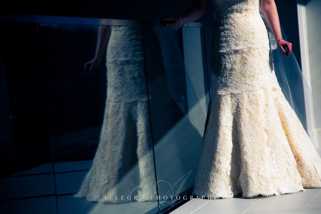 wedding dress details boston - photo by allegro photography