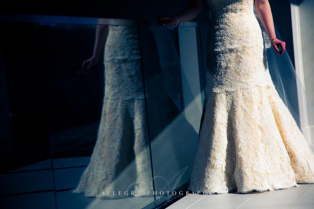 wedding dress details boston - photo by allegro photography