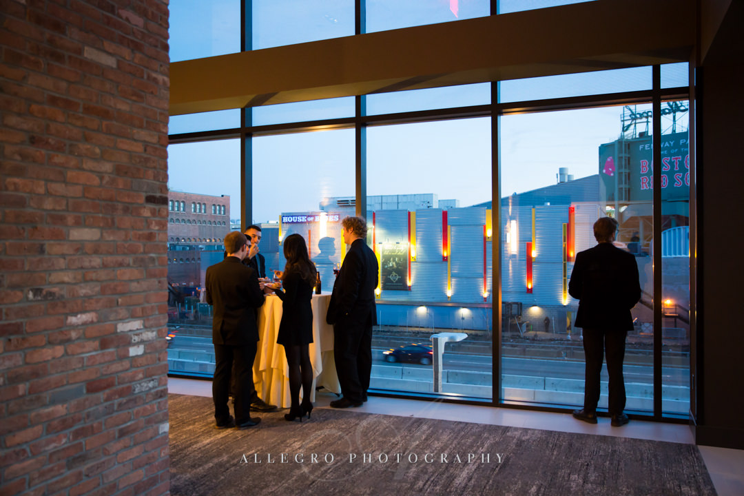boston views at hotel commonwealth wedding - photo by allegro photography