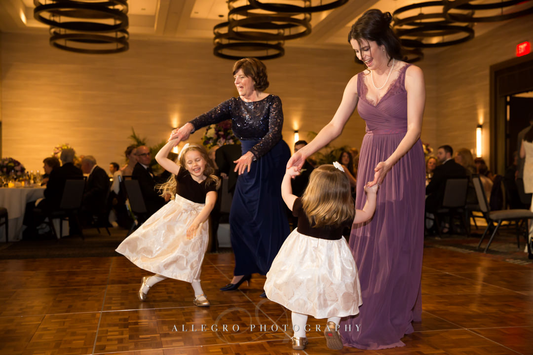 dancing at hotel commonwealth wedding - photo by allegro photography