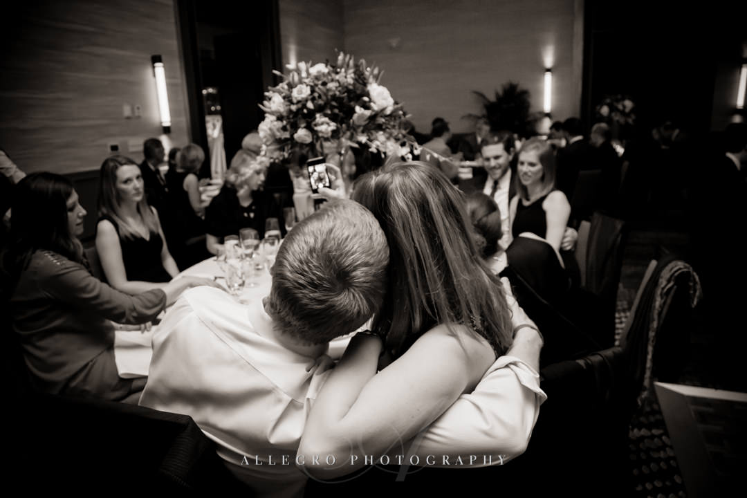 sweet moments at hotel commonwealth wedding - photo by allegro photography