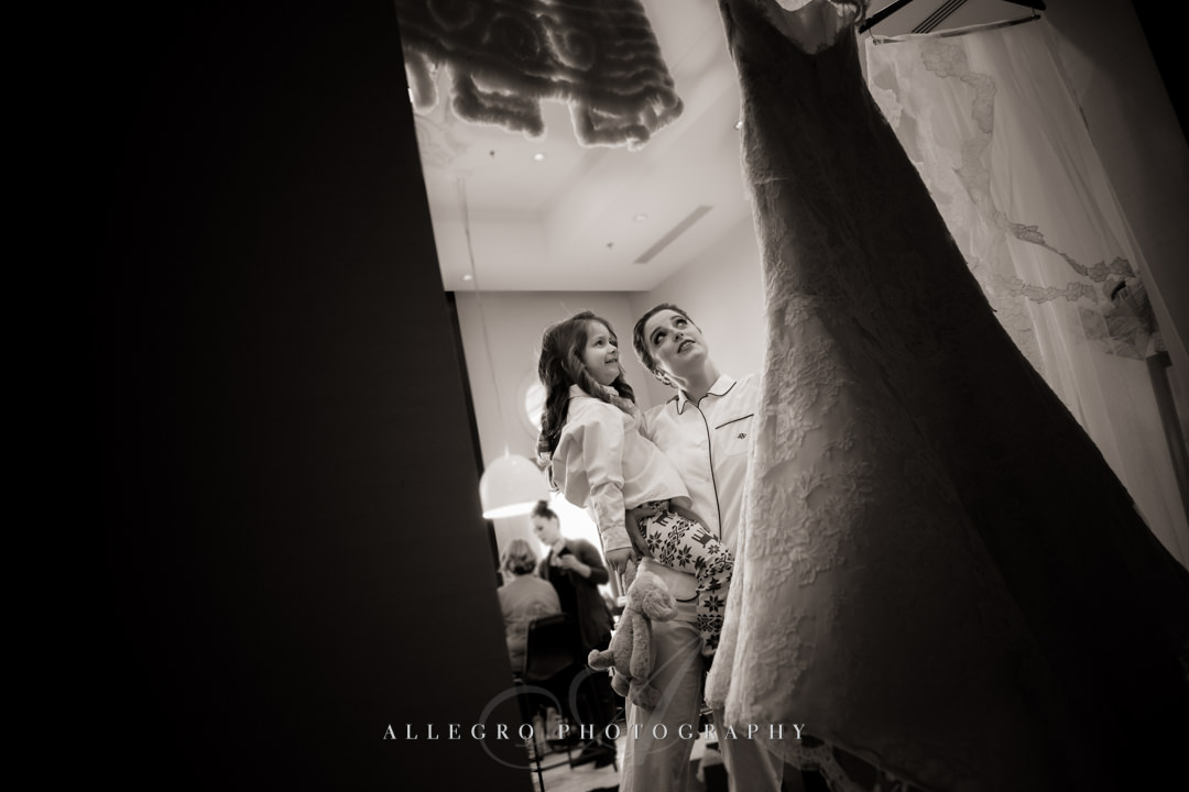 getting ready for a wedding at the hotel commonwealth - photo by allegro photography