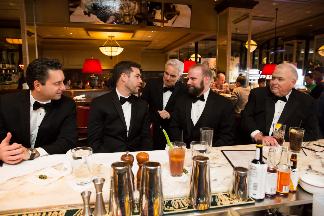 groomsmens at the hotel commonwealth - photo by allegro photography