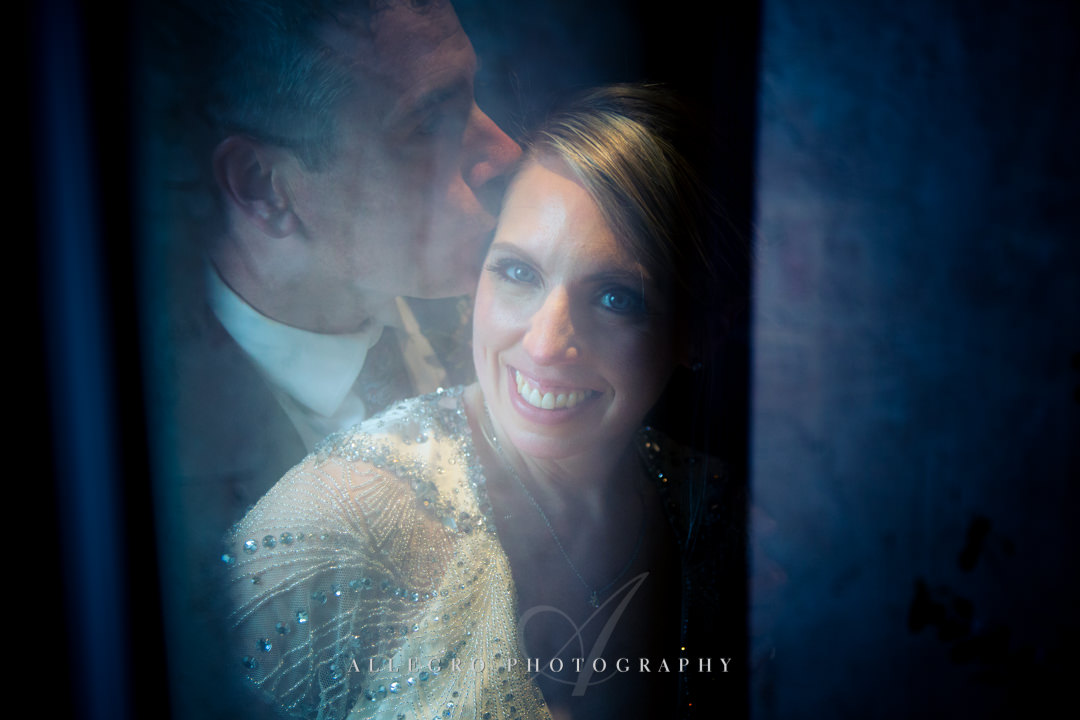 artistic wedding photo at mirbeau inn & spa - photo by allegro photography