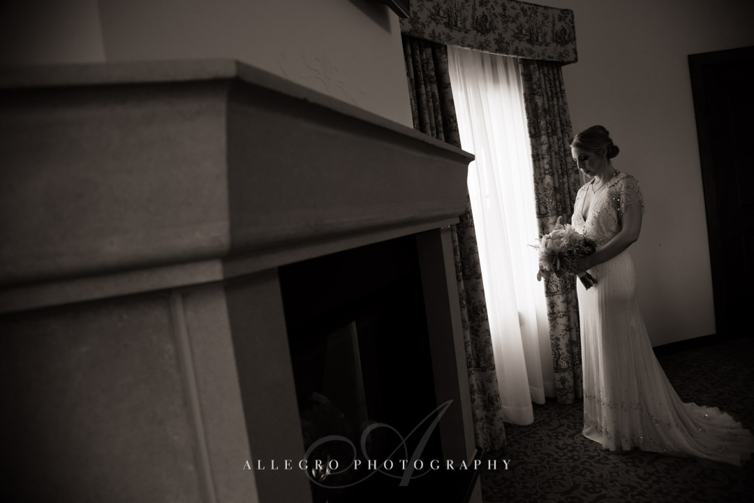 bridal portrait at mirbeau inn & spa - photo by allegro photography
