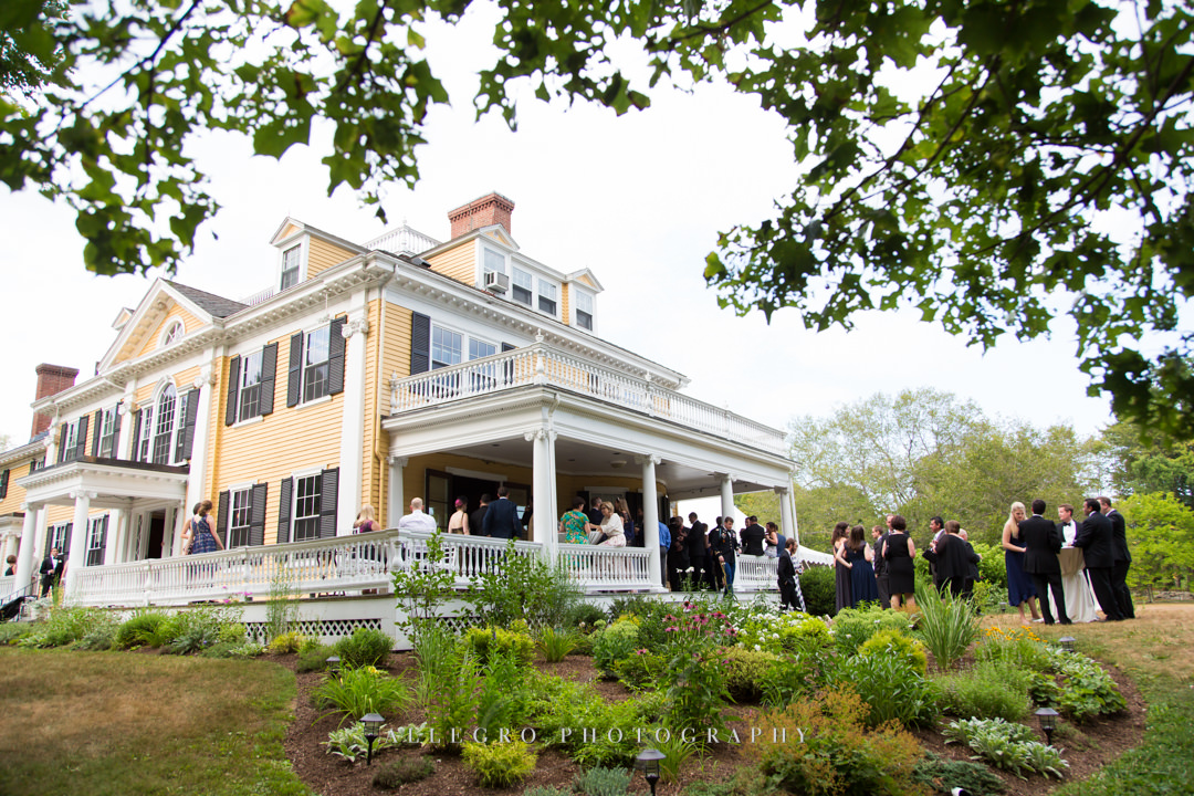 pierce house wedding - photo by allegro photography