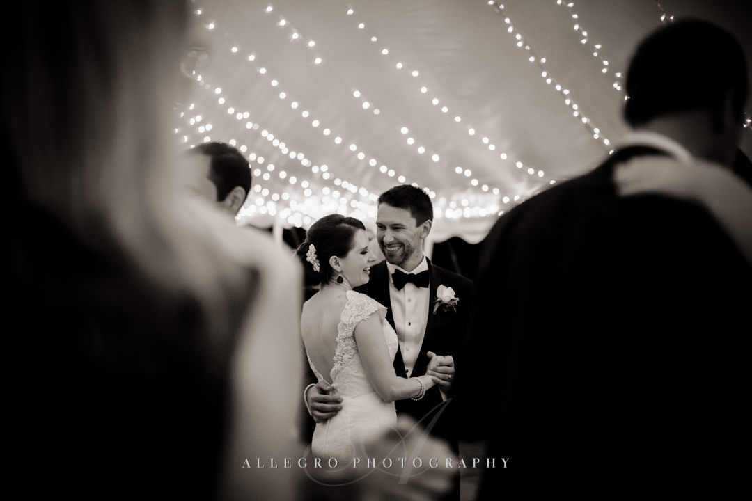 first dance at the pierce house - photo by allegro photography