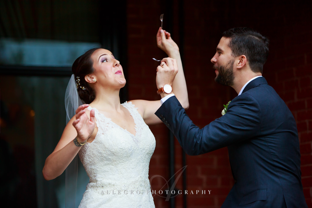 funny wedding moments boston - photo by allegro photography