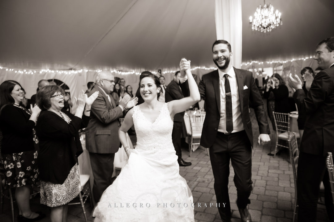 wedding celebration at the stevens estate - photo by allegro photography