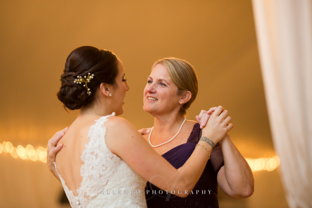 mother daughter dance at stevens estate - photo by allegro photography