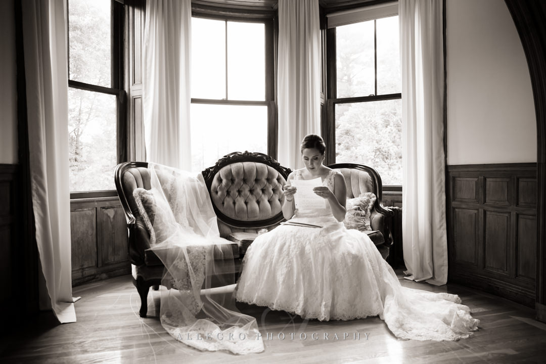 wedding day love letter boston - photo by allegro photography