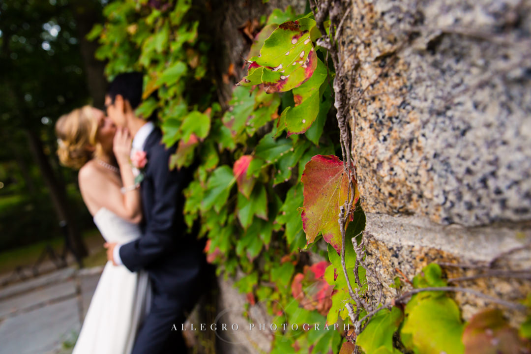 fall wedding photos boston - photographed by Allegro Photography