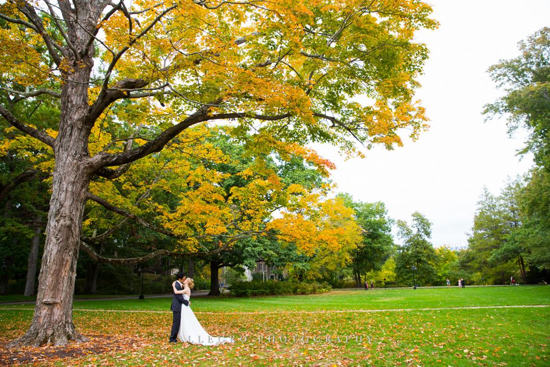 outdoor fall wedding photos - photo by allegro photography