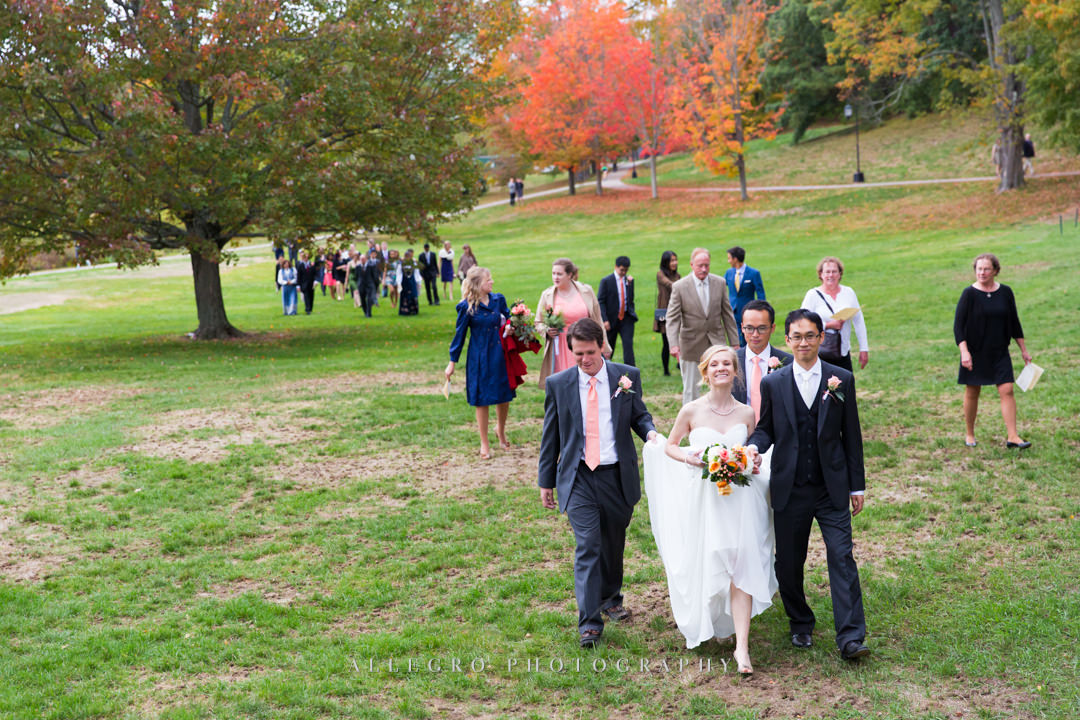 gorgeous fall wedding - photo by allegro photography